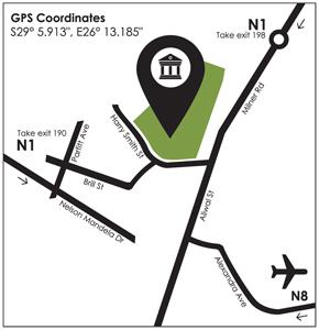 Oliewenhuis map