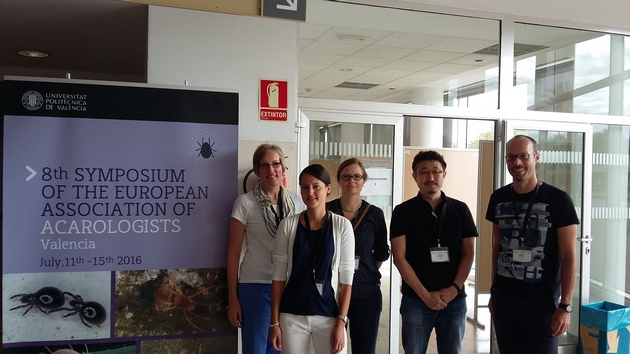 Acarologist attends symposium in Spain