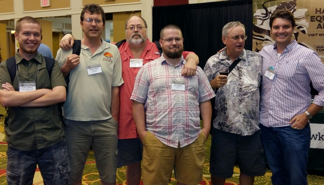 Herpetologist attends conference