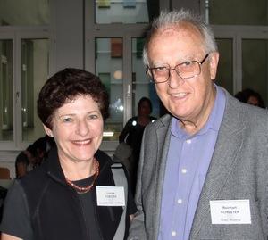 Louise Coetzee and Prof Reinhardt Schuster