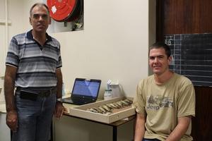 Researcher visits Ornithology Department