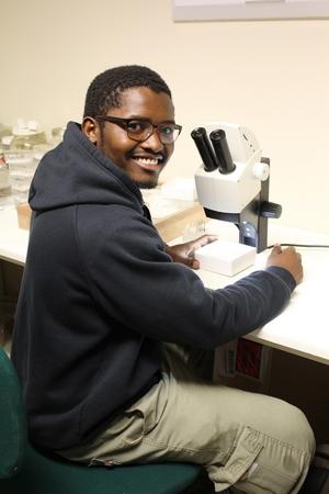 Researchers visit Entomology Department Gimo